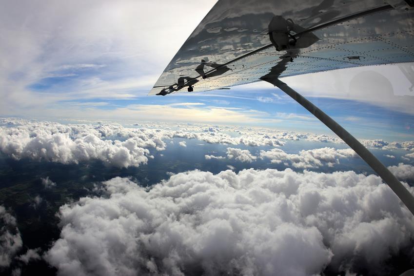 Pierwszy skok ze spadochronem