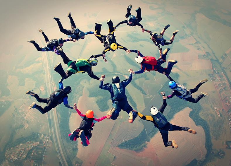 Skoki spadochronowe w tandemie Wielkopolska Wrocław