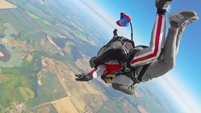 Kurs spadochronowy szkolenie AFF